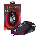 Marvo Scorpion M112 USB 7 Colour LED Black Programmable Gaming Mouse