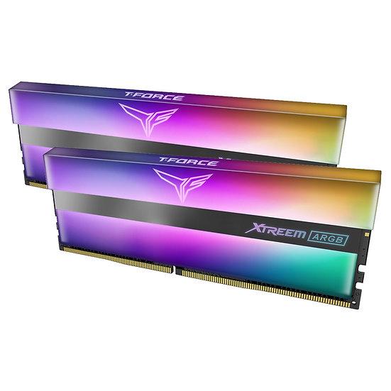 Team T-Force XTREEM ARGB 16GB Black Heatsink with ARGB LEDs (2 x 8GB) DDR4 3600M