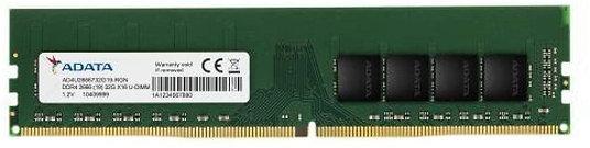 ADATA 16GB, DDR4, 3200MHz (PC4-25600), CL22, DIMM Memory