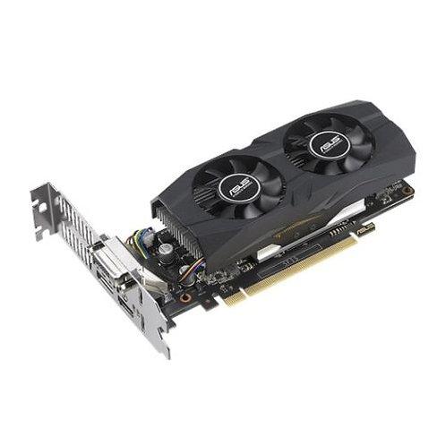 Asus GTX1050 Ti OC - Low Profile, 4GB DDR5, PCIe3, DVI, HDMI, DP, 1442MHz OC