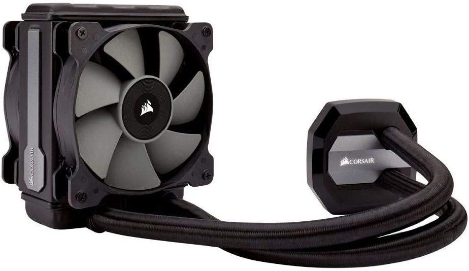 Corsair Hydro H80i v2 120mm RGB Liquid CPU Cooler, 2 x 12cm PWM Fans