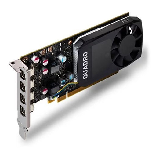 PNY Quadro P620 Professional Graphics Card, 2GB DDR5, 4 miniDP 1.4 (4 x DP adapt