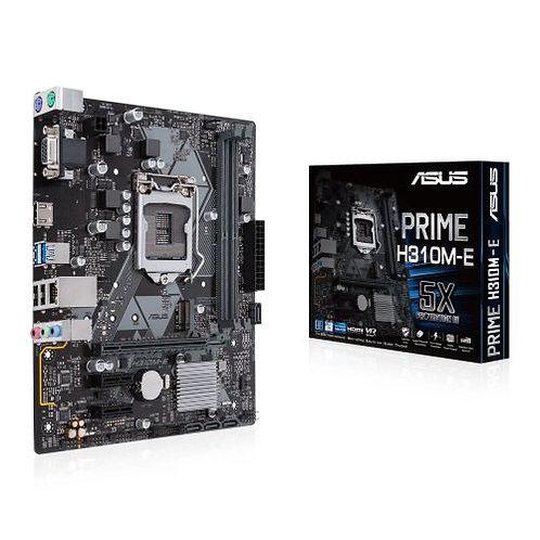 Asus PRIME H310M-E R2.0, Intel H310, 1151, Micro ATX, DDR4, VGA, HDMI, LED Light