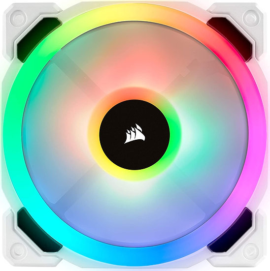 Corsair LL120 12cm PWM RGB Case Fan,16 LED RGB Dual Light Loop, Hydraulic Bearin