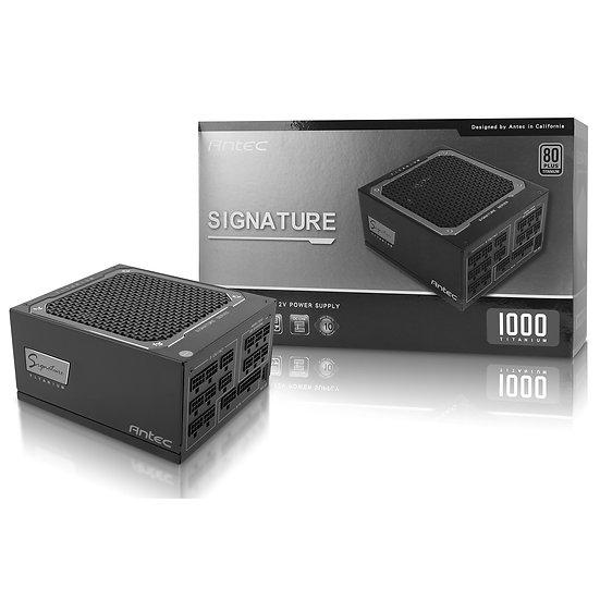 Antec Signature 1000W Titanium 135mm FDB Silent Fan 80 PLUS Titanium modular PSU