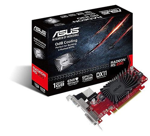 Asus Radeon R5 230, 1GB DDR3, PCIe2.1, VGA, DVI, HDMI, 625MHz Clock