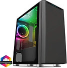 CiT Omega Solid Front With 1 ARGB Fan Included and ARGB Hub With Tempered Glass