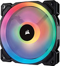 Corsair LL120 12cm PWM RGB Case Fan, 16 LED RGB Dual Light Loop, Hydraulic Beari