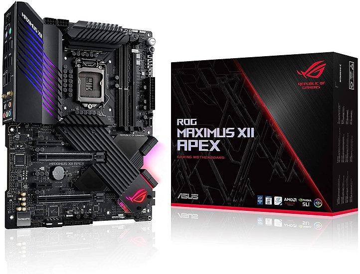 Asus ROG MAXIMUS XII APEX, Intel Z490, 1200, ATX, 2 DDR4, XFire/SLI, AX Wi-Fi, 2