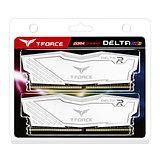 Team DELTA RGB 8GB White Heatsink with RGB LEDs (2 x 4GB) DDR4 2666MHz DIMM Syst