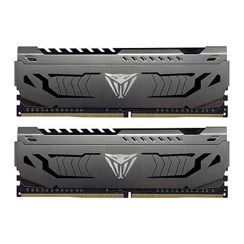Patriot Viper Steel Series DDR4 16GB (2 x 8GB) 3000MHz Kit w/Gunmetal Grey heats