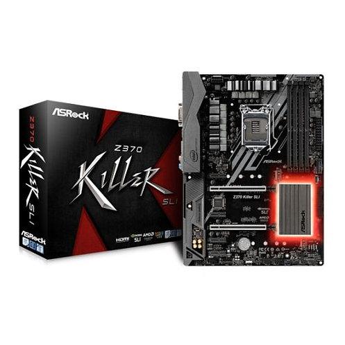 Asrock Z370 KILLER SLI, Intel Z370, 1151, ATX, 4 DDR4, XFire/SLI, DVI, HDMI, RGB