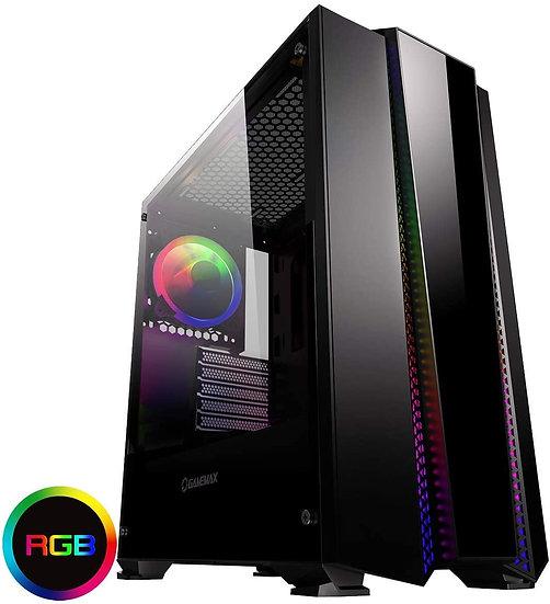 GameMax Phantom RGB Mid-Tower Tempered Glass Gaming Case