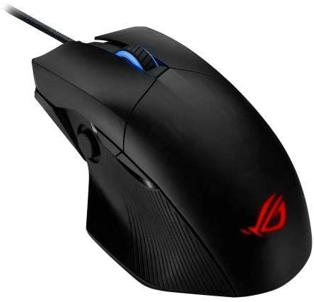 Asus ROG Chakram Core Wired Gaming Mouse, 16000 DPI, Programmable Joystick, Scre