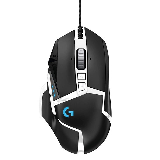 Logitech G G502 Special Edition Hero USB RGB LED Black&White Programmable mouse