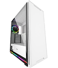 GameMax Ice ARGB Sync White Case 2xLED Strips 3xFans 3pin Hub TG Window