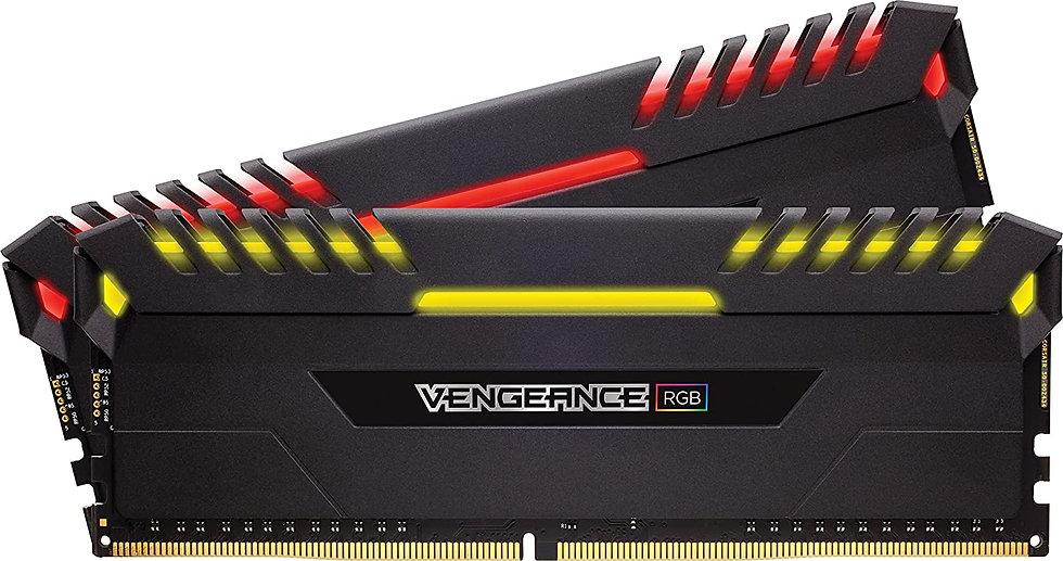 Corsair Vengeance RGB Pro 16GB Memory Kit (2 x 8GB), DDR4, 3600MHz (PC4-28800),