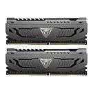 Patriot Viper Steel Series DDR4 16GB (2 x 8GB) 3200MHz Kit w/Gunmetal Grey heats