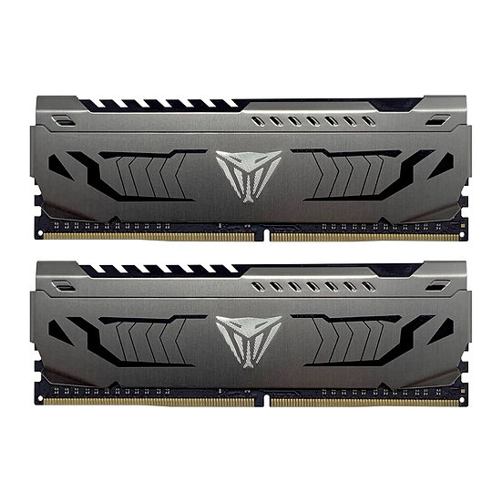 Patriot Viper Steel Series DDR4 16GB (2 x 8GB) 4000MHz Kit w/Gunmetal Grey heats