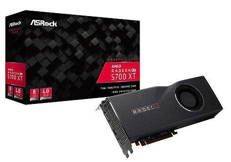 Asrock RX5700 XT 8G, 8GB DDR6, PCIe4, HDMI, 3DP, RDNA, 1905MHz Clock