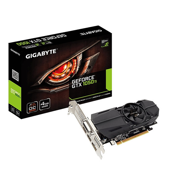 Gigabyte GeForce GTX 1050 Ti OC Low Profile 4G 4GB GDDR5 Low Profile Cooling