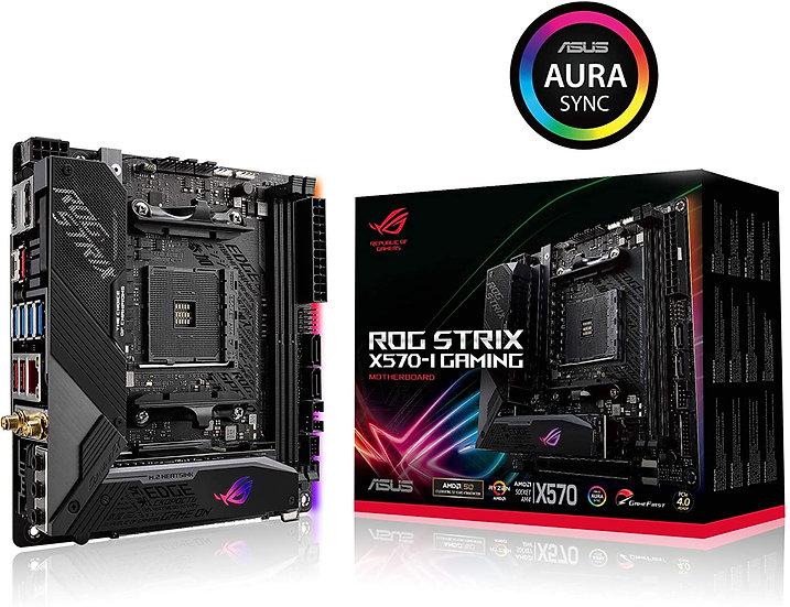 Asus ROG STRIX X570-I GAMING, AMD X570, AM4, Mini ITX, 4 DDR4, HDMI,DP,SLI/Xfire