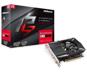 Asrock Phantom Gaming Radeon RX560, 2GB DDR5, PCIe3, DVI, HDMI