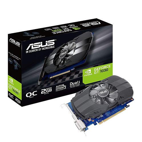 Asus Phoenix GT1030 OC, 2GB DDR5, PCIe3, DVI, HDMI, 1531MHz Clock
