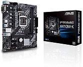 Asus PRIME H410M-K, Intel H410, 1200, Micro ATX, 2 DDR4, VGA, DVI