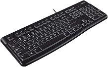 Logitech K120 Wired Keyboard, USB, Low Profile, Quiet Keys, OEM