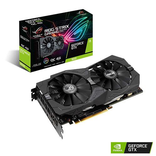 Asus GTX1650 STRIX OC, 4GB DDR5, 2 HDMI, 2 DP, 1860MHz Clock