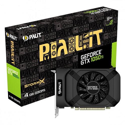 Palit GTX1050 Ti StormX, 4GB DDR5, PCIe3, DVI, HDMI, DP, 1392MHz Clock
