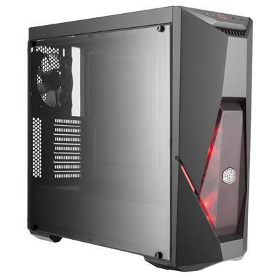 Cooler Master MasterBox K500L Black Tower Case (M-ITX/M-ATX/ATX)