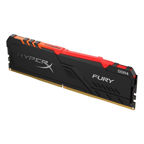 Kingston HyperX Fury RGB 8GB Black Heatsink (1 x 8GB) DDR4 3200MHz DIMM System