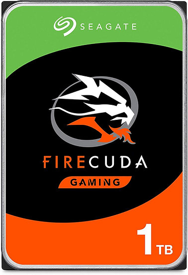 "Seagate FireCuda 3.5"" Hybrid SSHD/Solid State Hard Drive"
