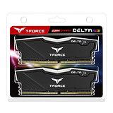 Team DELTA RGB 16GB Black Heatsink with RGB LEDs (2 x 8GB) DDR4 2400MHz DIMM