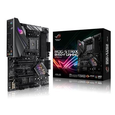 Asus ROG STRIX B450-F GAMING, AMD B450, AM4, ATX, 4 DDR4