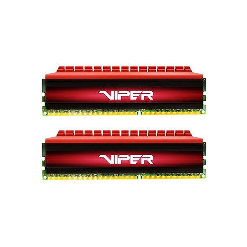 Patriot Viper 4 Series 16GB Black & Red Heatsink (2 x 8GB) DDR4 3200MHz DIMM Sys