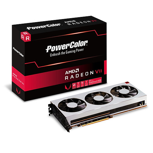 PowerColor AMD Radeon VII 16GB HBM2 7nm Triple Fan Graphics Card
