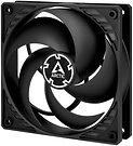 Arctic P12 Pressure Optimised 12cm Case Fan, Black, Fluid Dynamic.