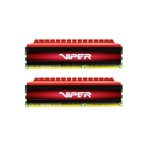 Patriot Viper 4 Series 8GB Black & Red Heatsink (2 x 4GB) DDR4 3000MHz DIMM Syst