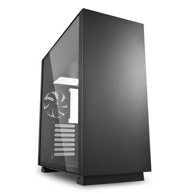 Sharkoon Pure Steel Black Mid Tower Case (M-ITX/M-ATX/ATX/E-ATX/CEB/EEB)