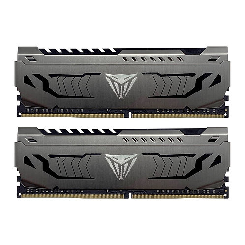 Patriot Viper Steel Series DDR4 16GB (2 x 8GB) 4400MHz Kit w/Gunmetal Grey heats