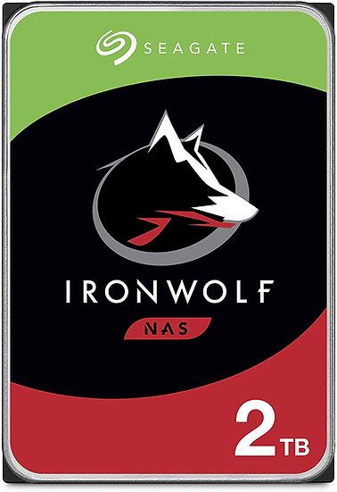 "Seagate IronWolf 2TB NAS 3.5"" SATA HDD/Hard Drive"