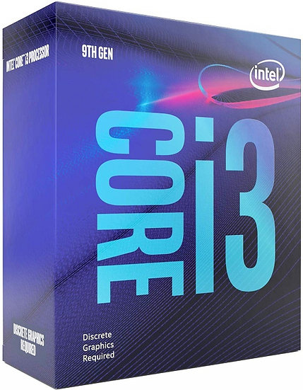 Intel i3 9100F Coffee Lake Refresh Quad Core 3.6GHz 1151 Processor