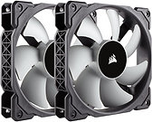 Corsair ML120 Premium 12cm PWM Case Fans x2, 12cm, Magnetic Levitation Bearing
