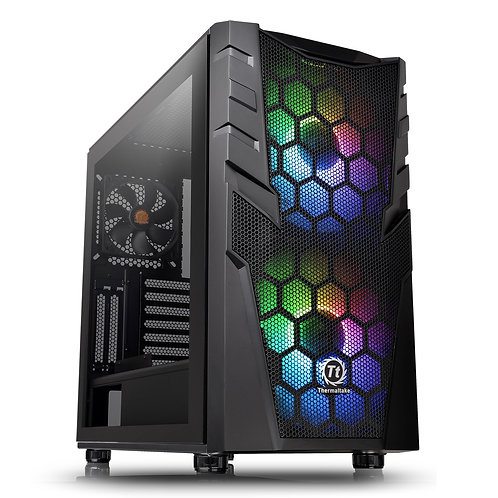 Thermaltake Commander C32 TG ARGB Edition Series Mid Tower 2 x USB 3.0 Tempered