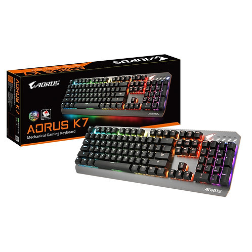Gigabyte Aorus K7 USB RGB Fusion 2.0 LED Gaming Keyboard