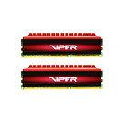 Patriot Viper 4 Series 16GB Black & Red Heatsink (2 x 8GB) DDR4