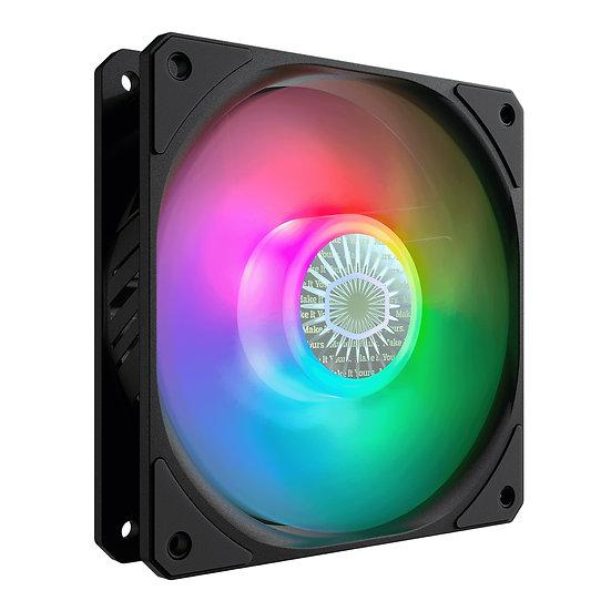 Cooler Master SickleFlow 120 ARGB 120mm 1800RPM PWM PWM Addressable RGB LED Fan